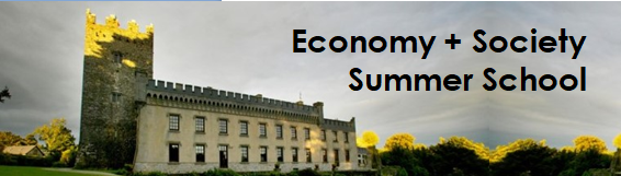 Economy & Society Summer School
